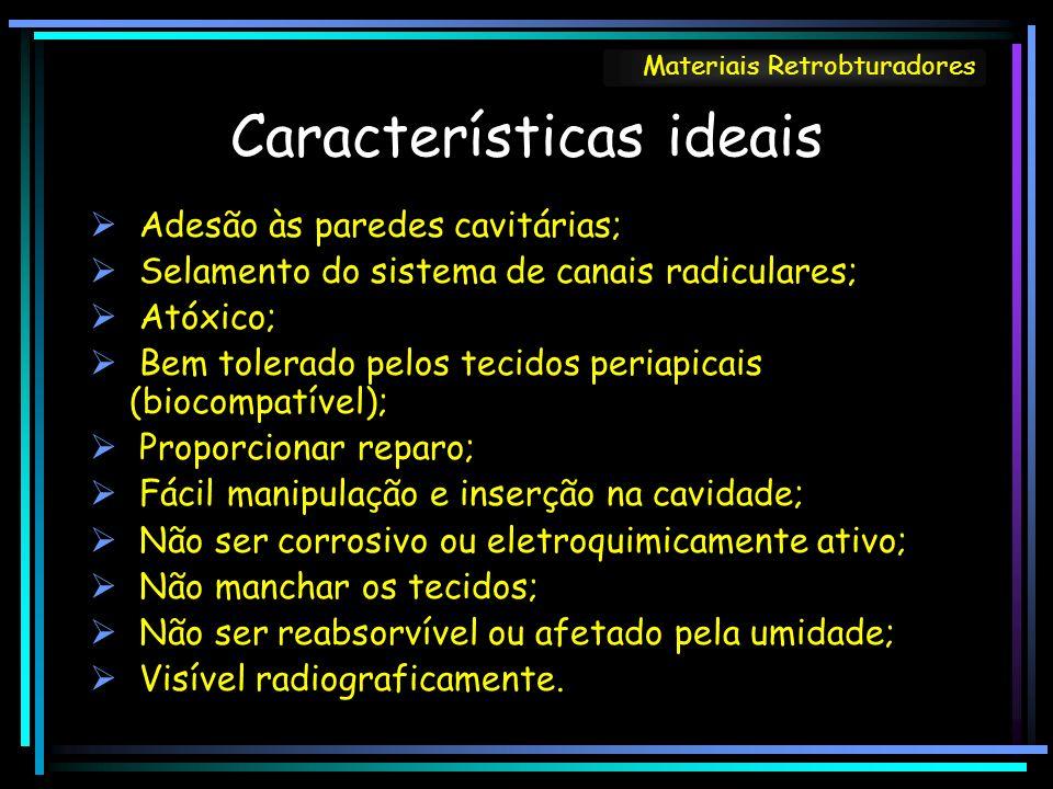 Características ideais