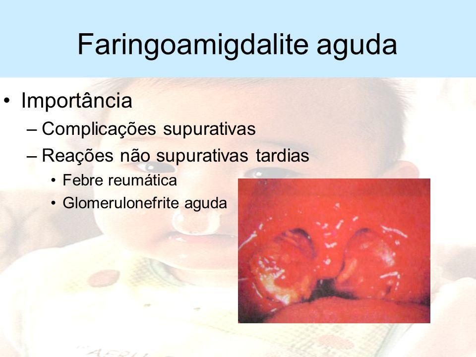 Faringoamigdalite aguda
