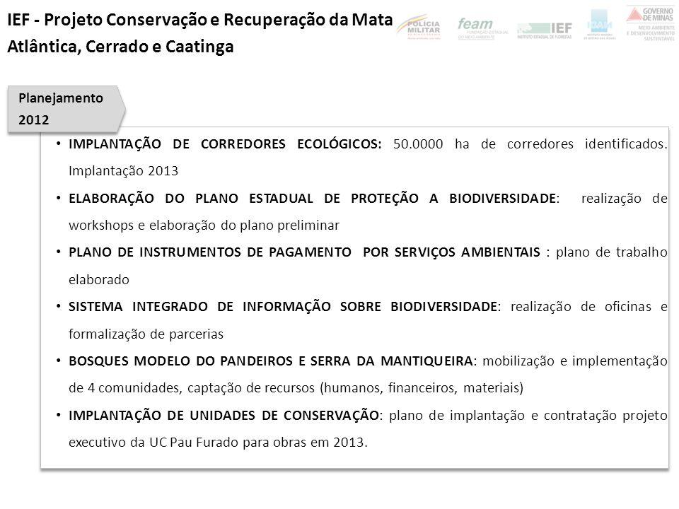 IEF - Projeto Conservação e Recuperação da Mata