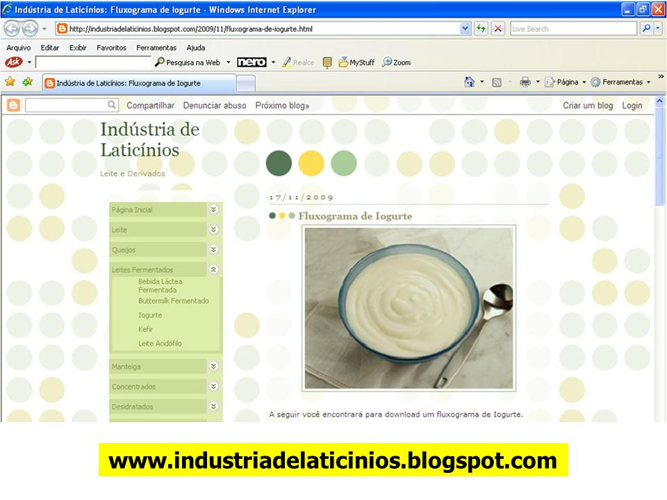 www.industriadelaticinios.blogspot.com