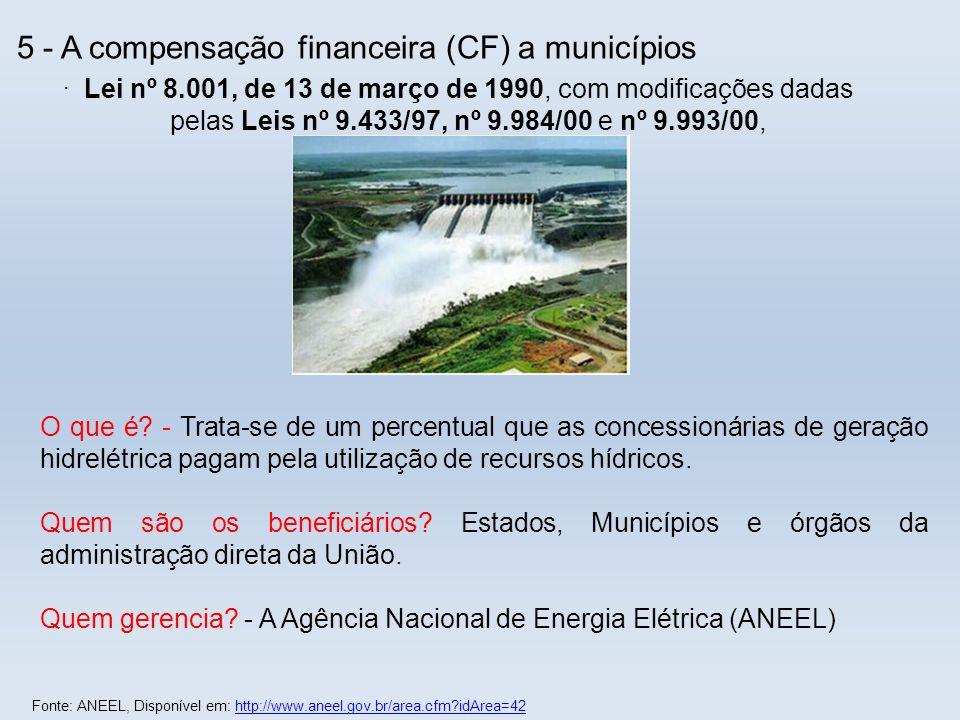 Quem gerencia - A Agência Nacional de Energia Elétrica (ANEEL)