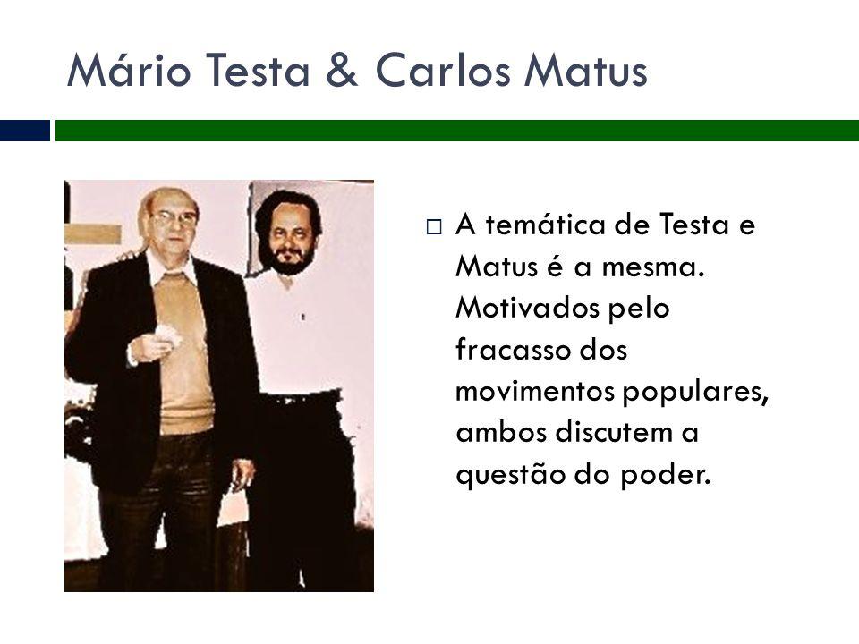 Mário Testa & Carlos Matus