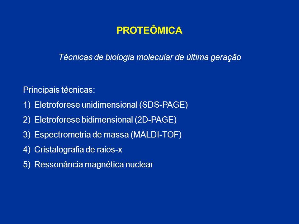 Técnicas de biologia molecular de última geração