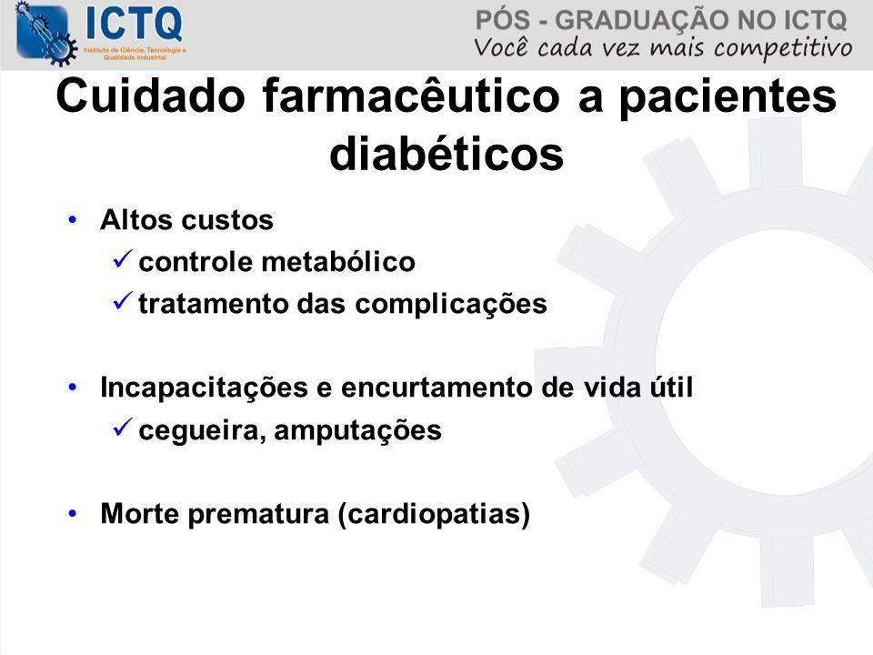 Cuidado farmacêutico a pacientes diabéticos