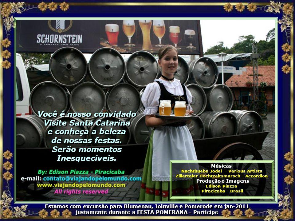 Você é nosso convidado Visite Santa Catarina e conheça a beleza