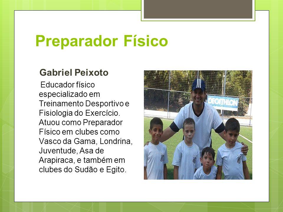Preparador Físico Gabriel Peixoto