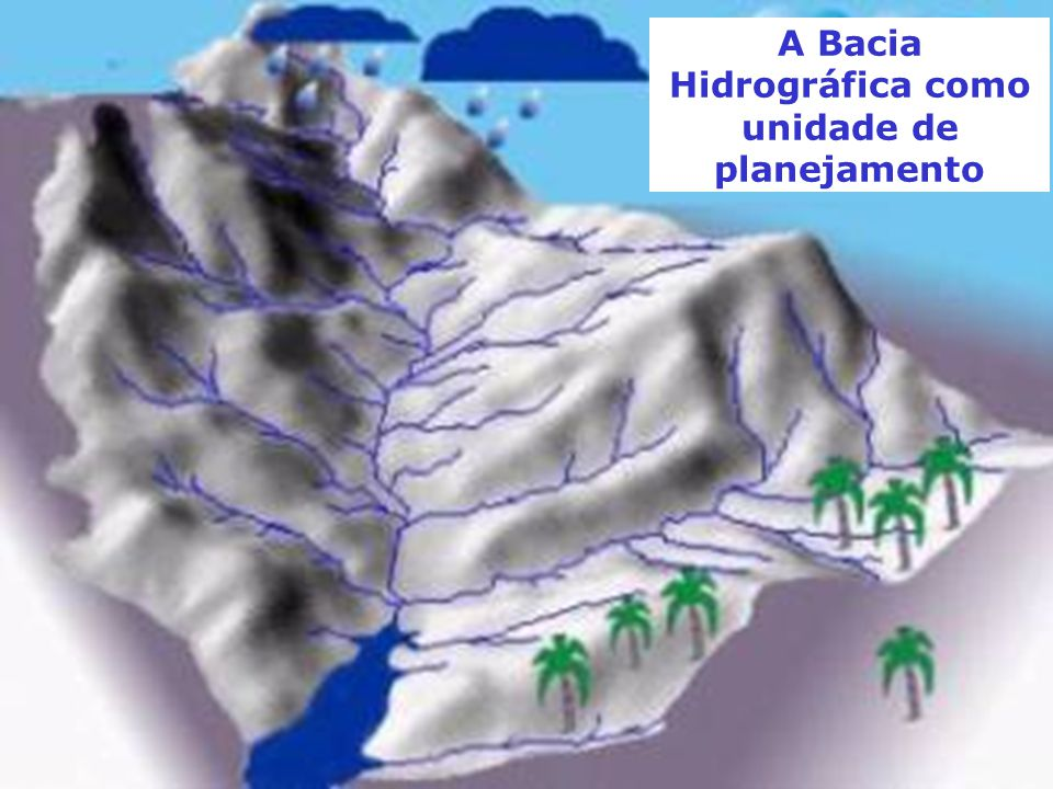 A Bacia Hidrográfica como unidade de planejamento