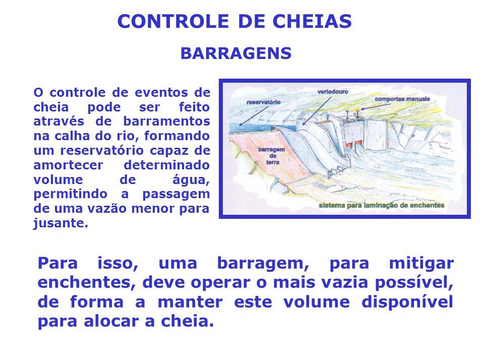 CONTROLE DE CHEIAS BARRAGENS