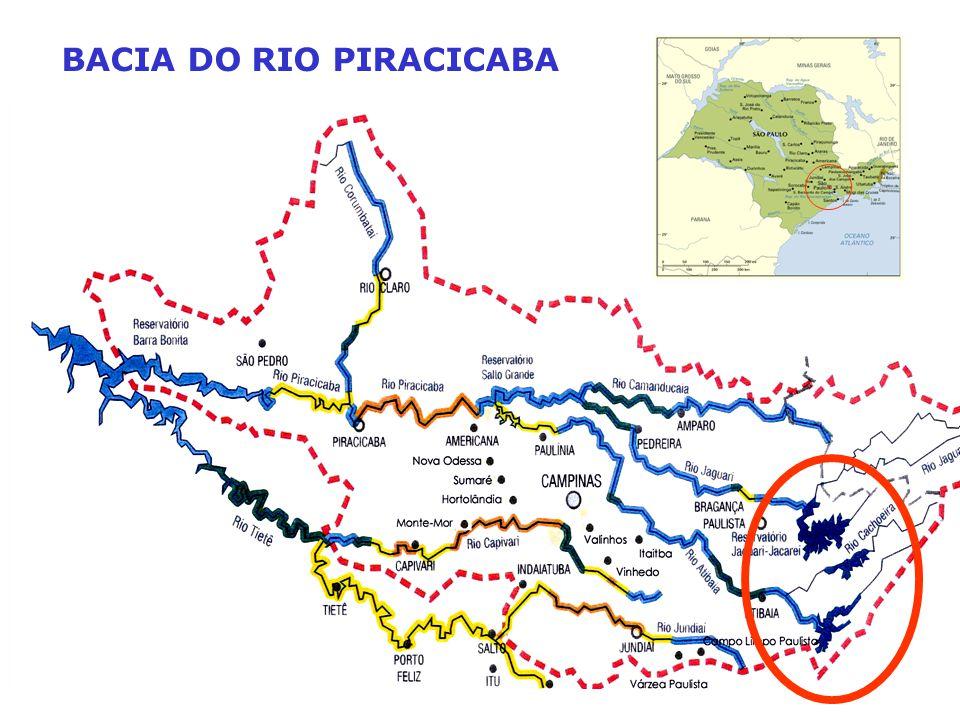 BACIA DO RIO PIRACICABA