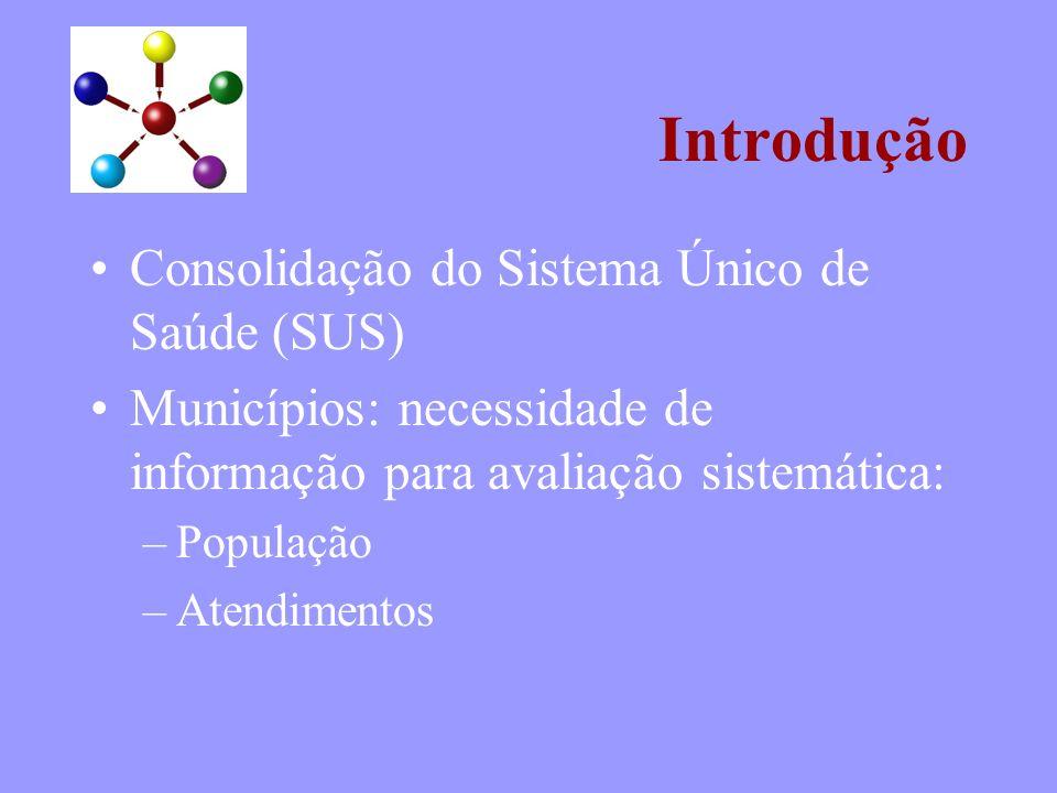 Introdução Consolidação do Sistema Único de Saúde (SUS)