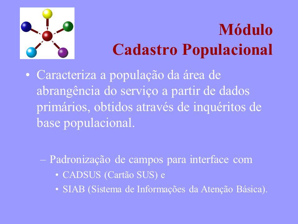 Módulo Cadastro Populacional