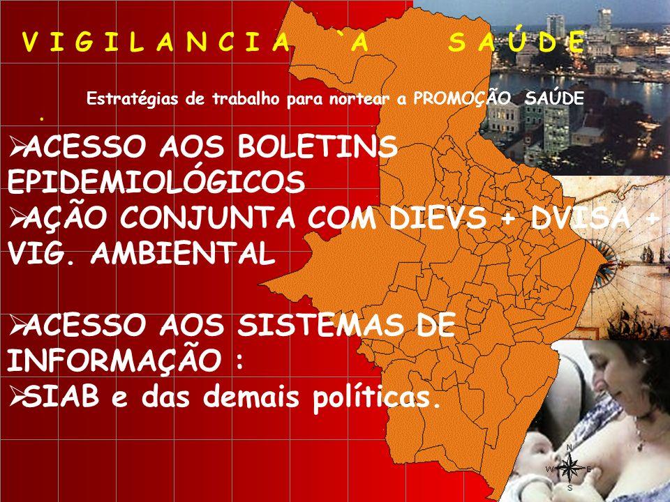 ACESSO AOS BOLETINS EPIDEMIOLÓGICOS