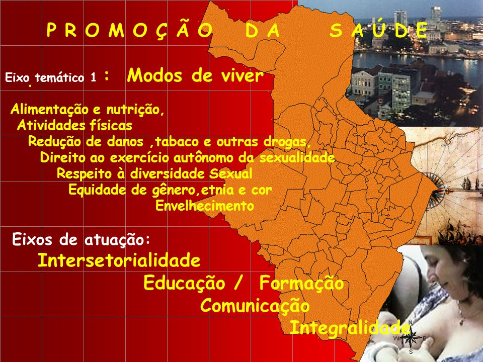 P R O M O Ç Ã O D A S A Ú D E Intersetorialidade Educação / Formação