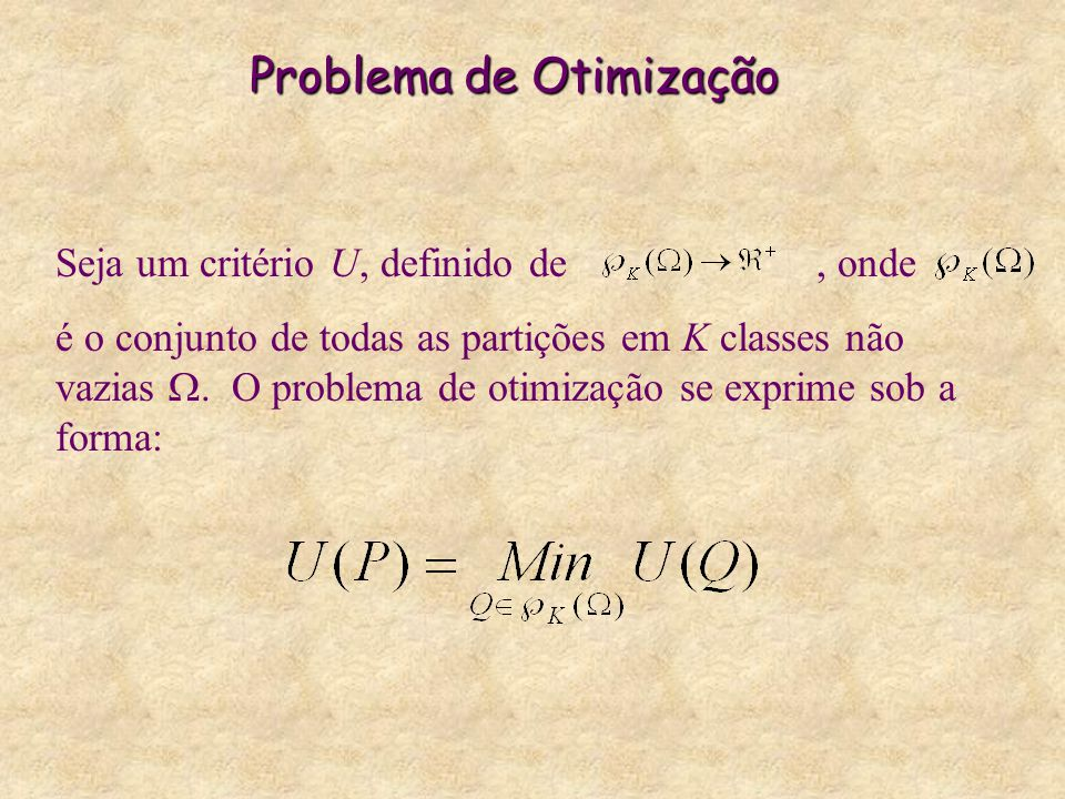 Problema de Otimização