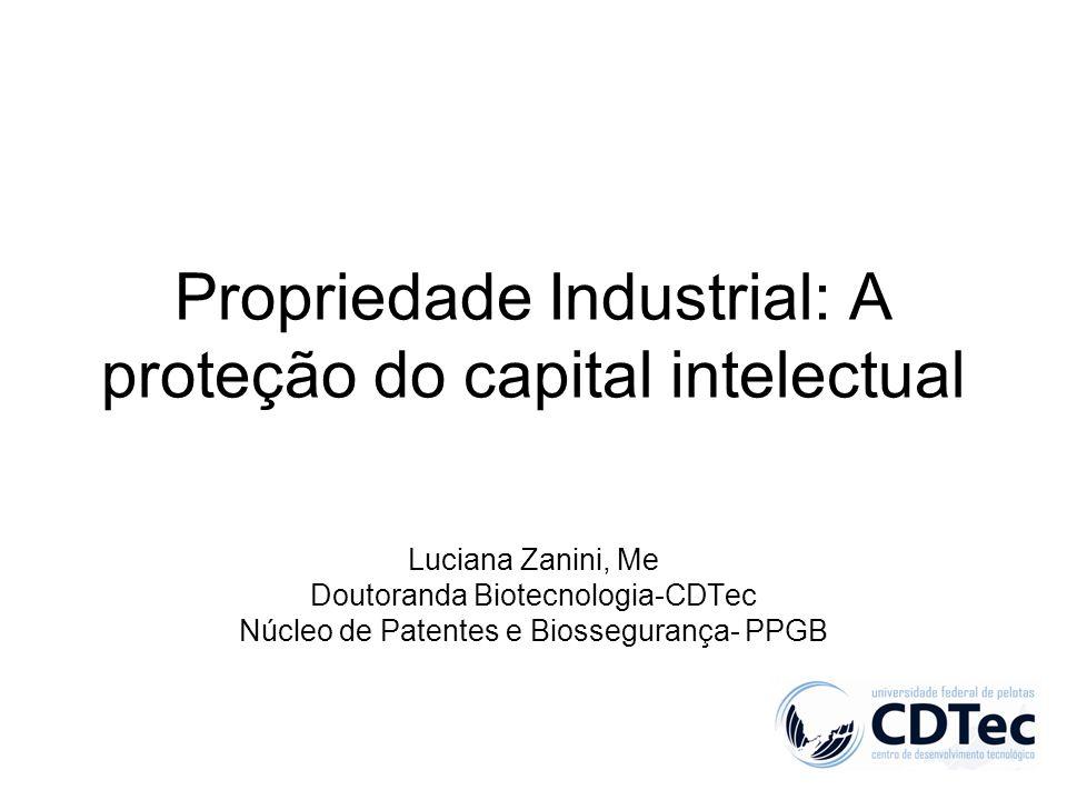Propriedade Industrial: A proteção do capital intelectual
