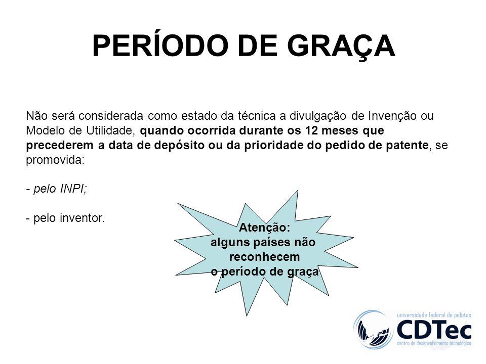 PERÍODO DE GRAÇA