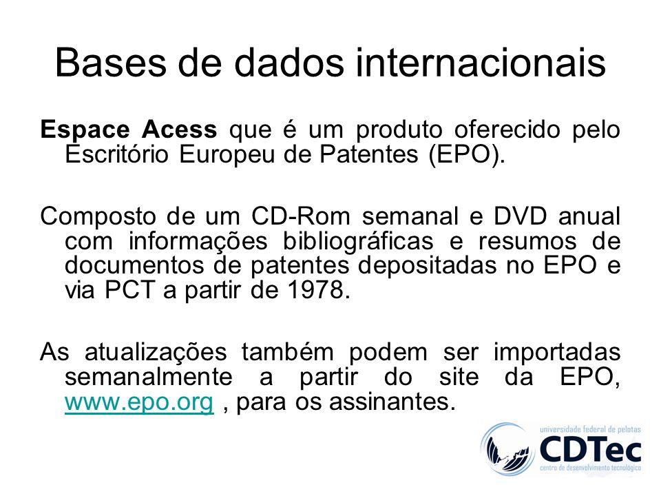 Bases de dados internacionais