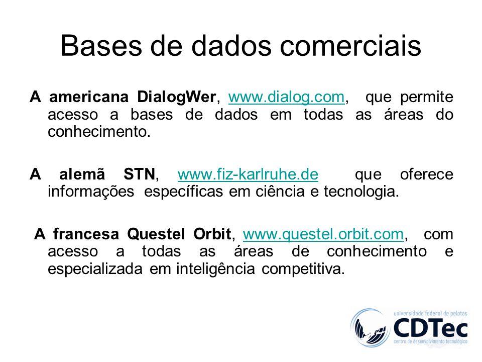 Bases de dados comerciais