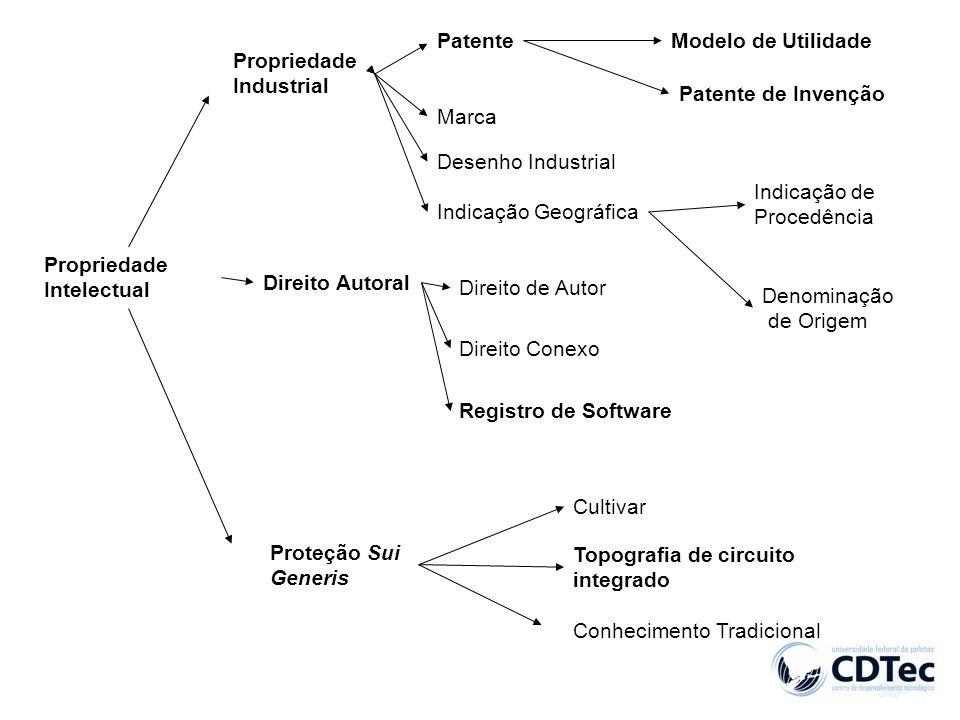 Patente Modelo de Utilidade. Propriedade. Industrial. Patente de Invenção. Marca. Desenho Industrial.