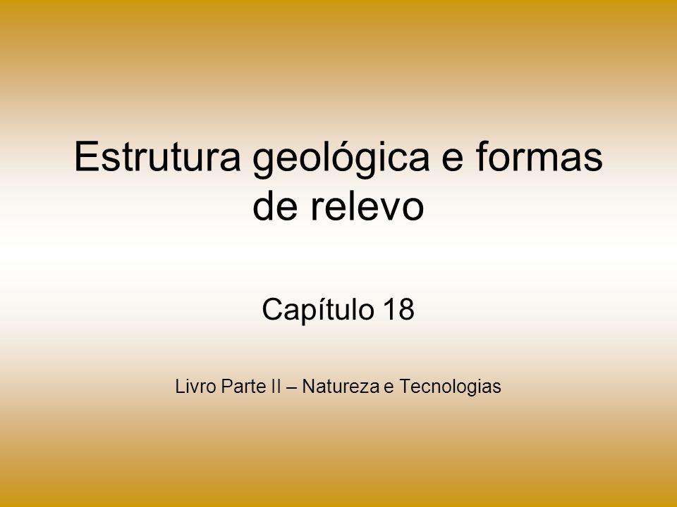 Estrutura geológica e formas de relevo