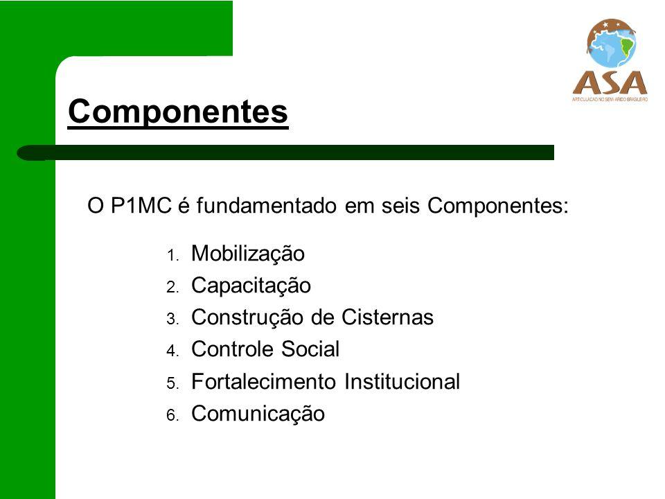 Componentes O P1MC é fundamentado em seis Componentes: Mobilização
