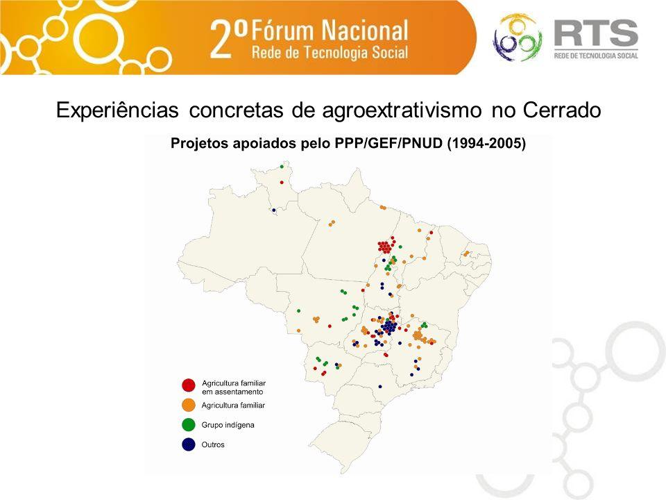 Experiências concretas de agroextrativismo no Cerrado