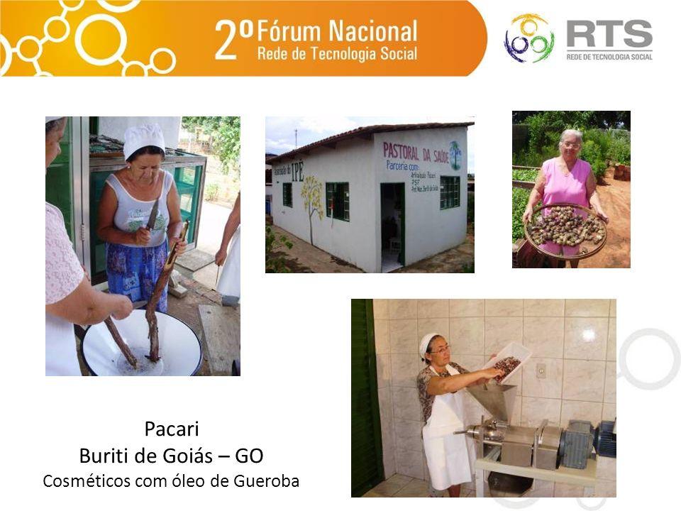 Pacari Buriti de Goiás – GO Cosméticos com óleo de Gueroba