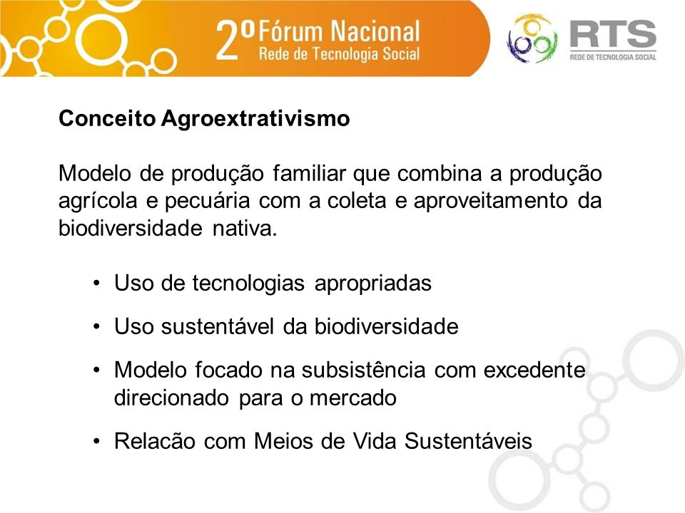 Conceito Agroextrativismo