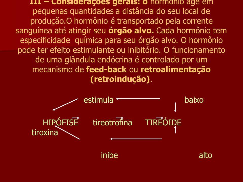 HIPÓFISE tireotrofina TIREÓIDE tiroxina