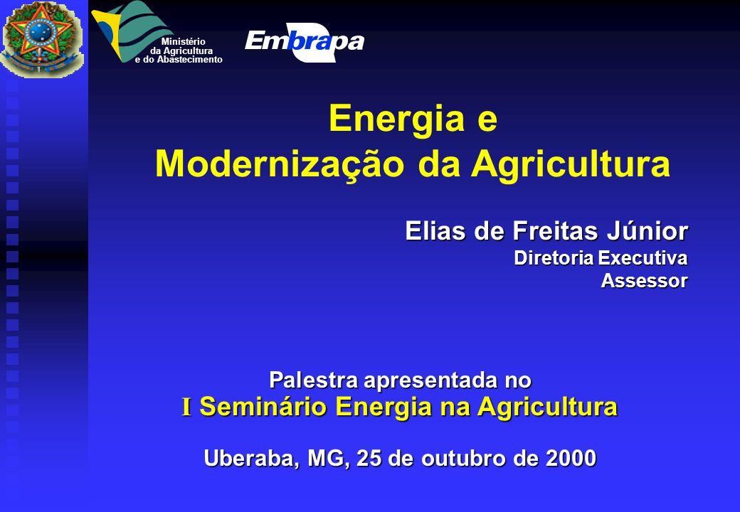 Energia e Modernização da Agricultura
