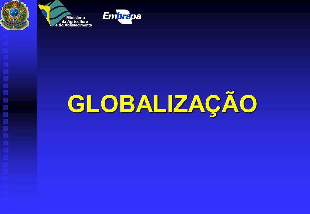 Ministério da Agricultura e do Abastecimento GLOBALIZAÇÃO