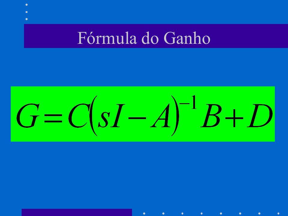 Fórmula do Ganho