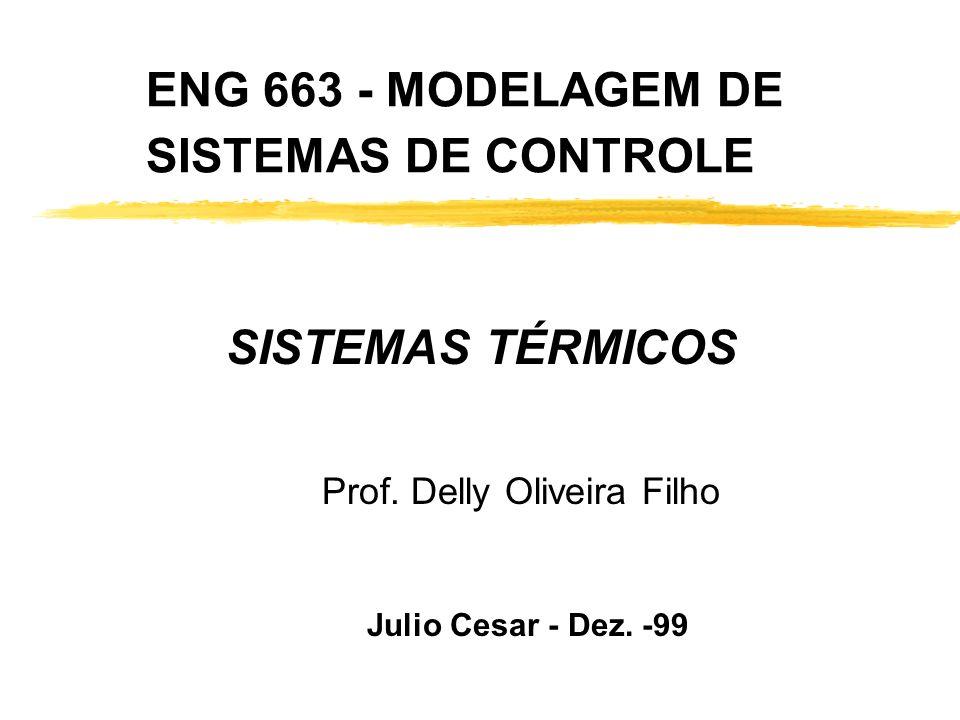 ENG 663 - MODELAGEM DE SISTEMAS DE CONTROLE