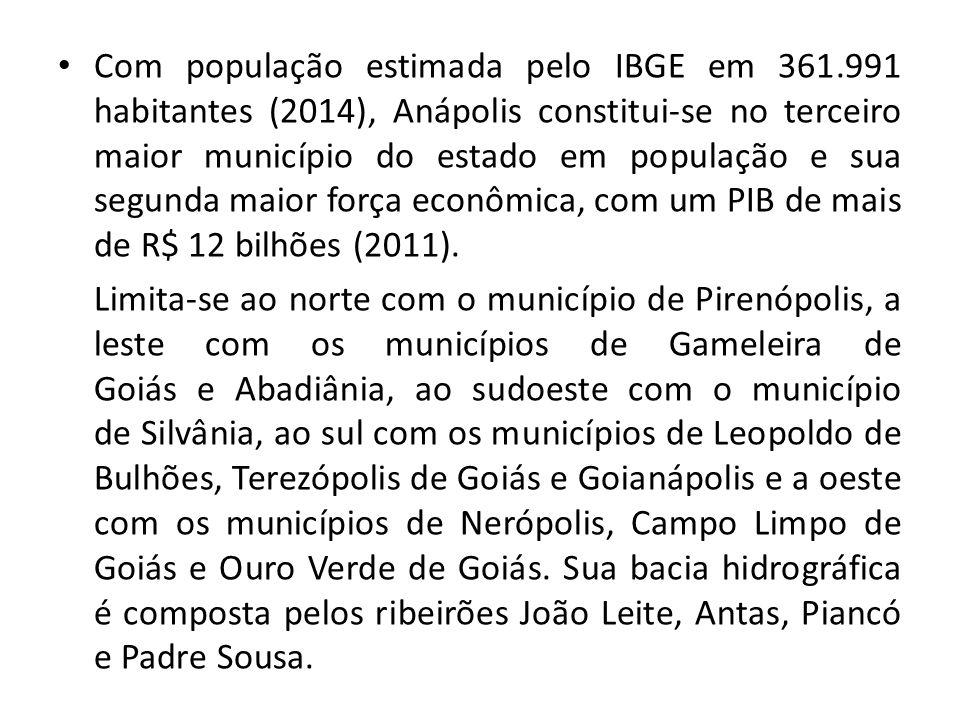 Com população estimada pelo IBGE em 361