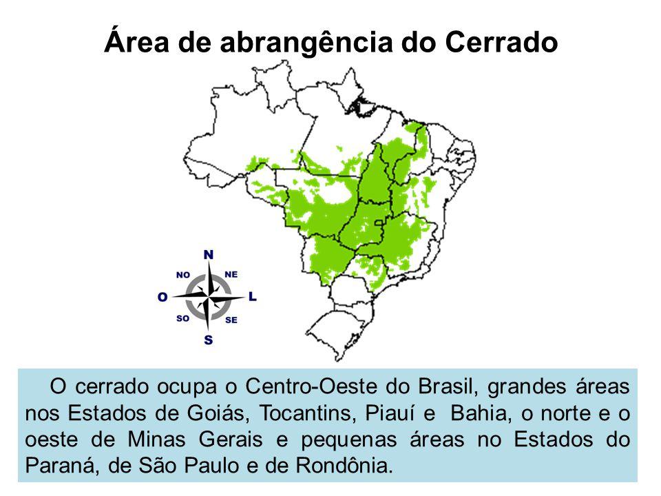Área de abrangência do Cerrado