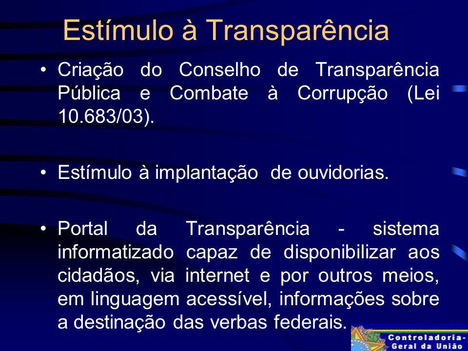 Estímulo à Transparência