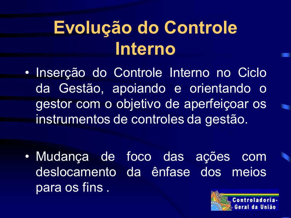 Evolução do Controle Interno