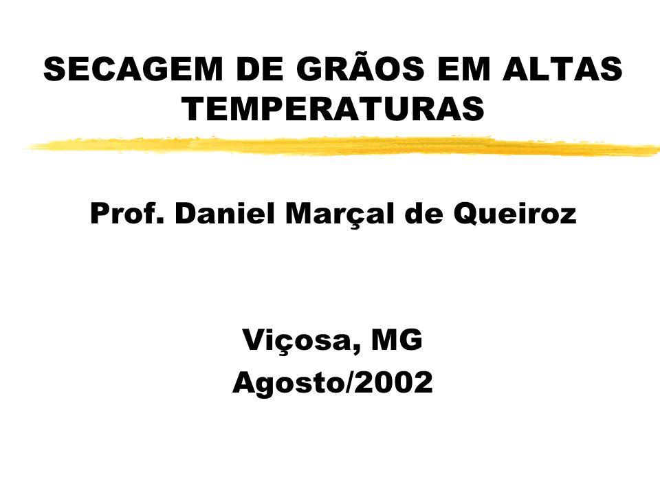 SECAGEM DE GRÃOS EM ALTAS TEMPERATURAS