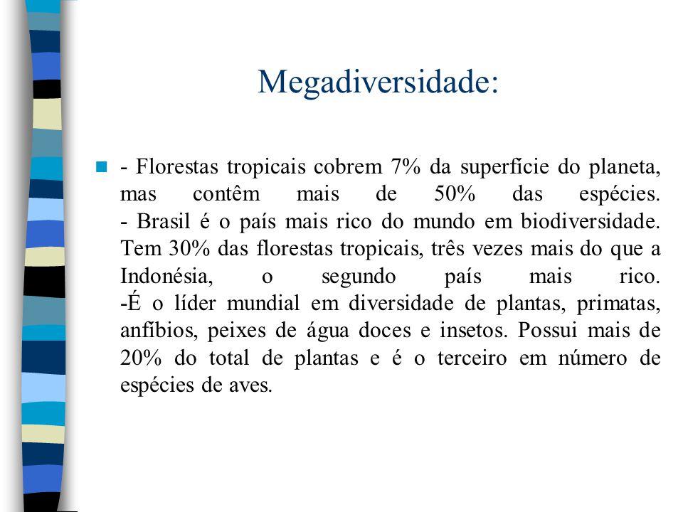 Megadiversidade: