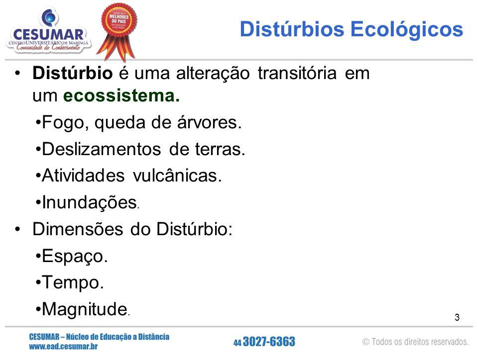 Distúrbios Ecológicos