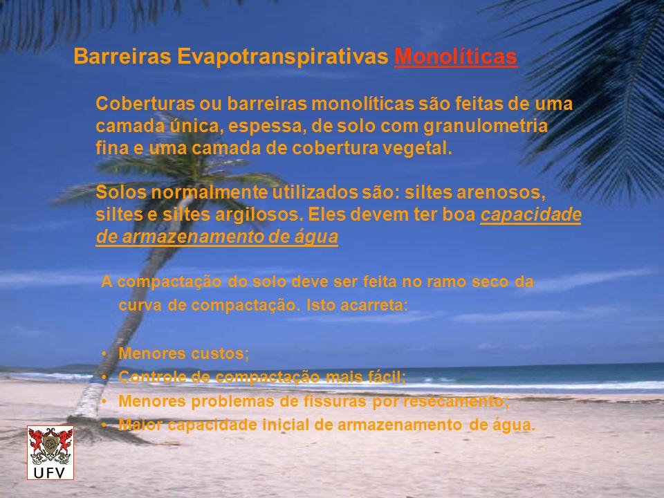 Barreiras Evapotranspirativas Monolíticas