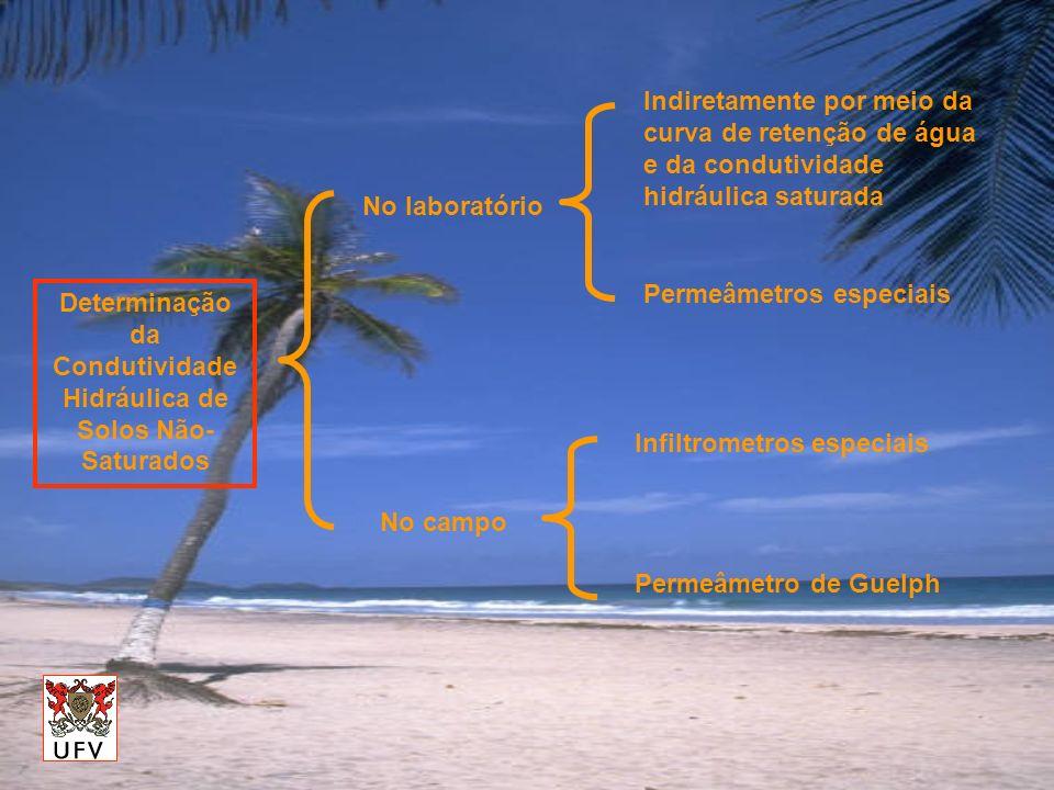Determinação da Condutividade Hidráulica de Solos Não-Saturados