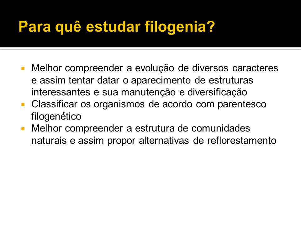 Para quê estudar filogenia