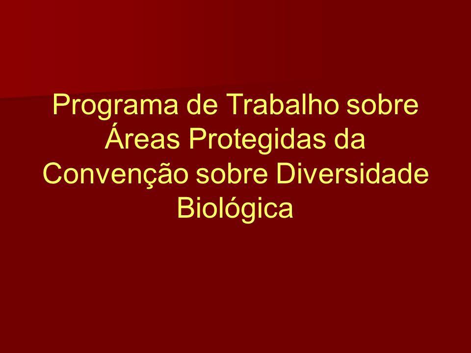 Programa de Trabalho sobre Áreas Protegidas da Convenção sobre Diversidade Biológica