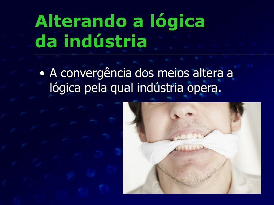 Alterando a lógica da indústria