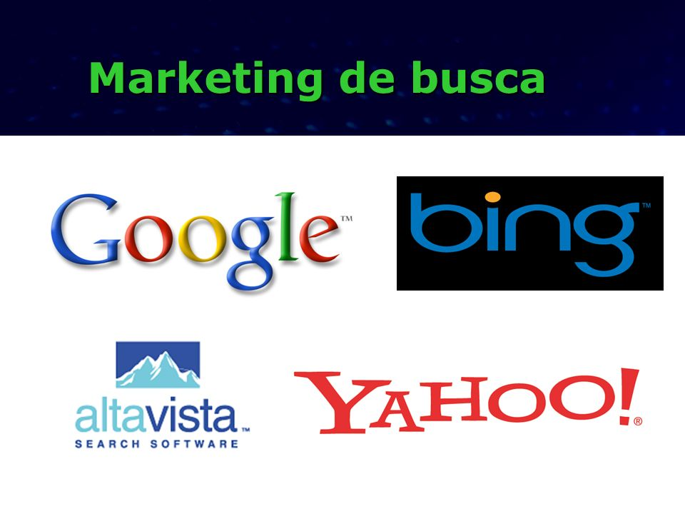 Marketing de busca