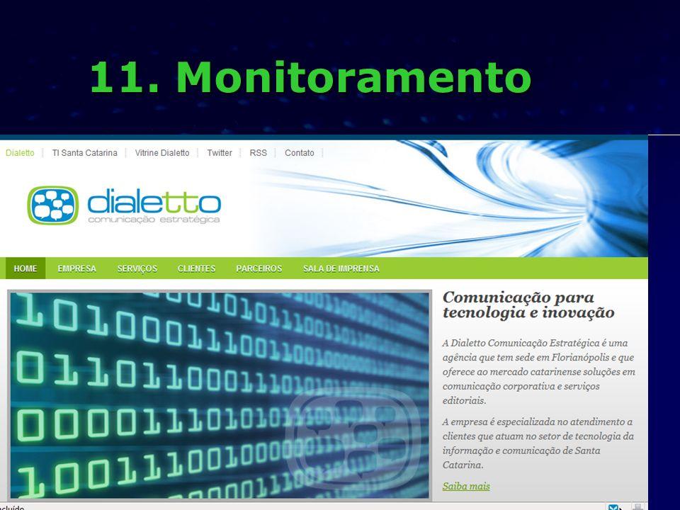 11. Monitoramento