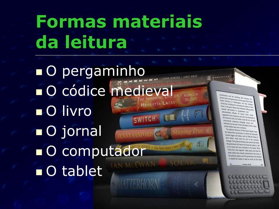 Formas materiais da leitura