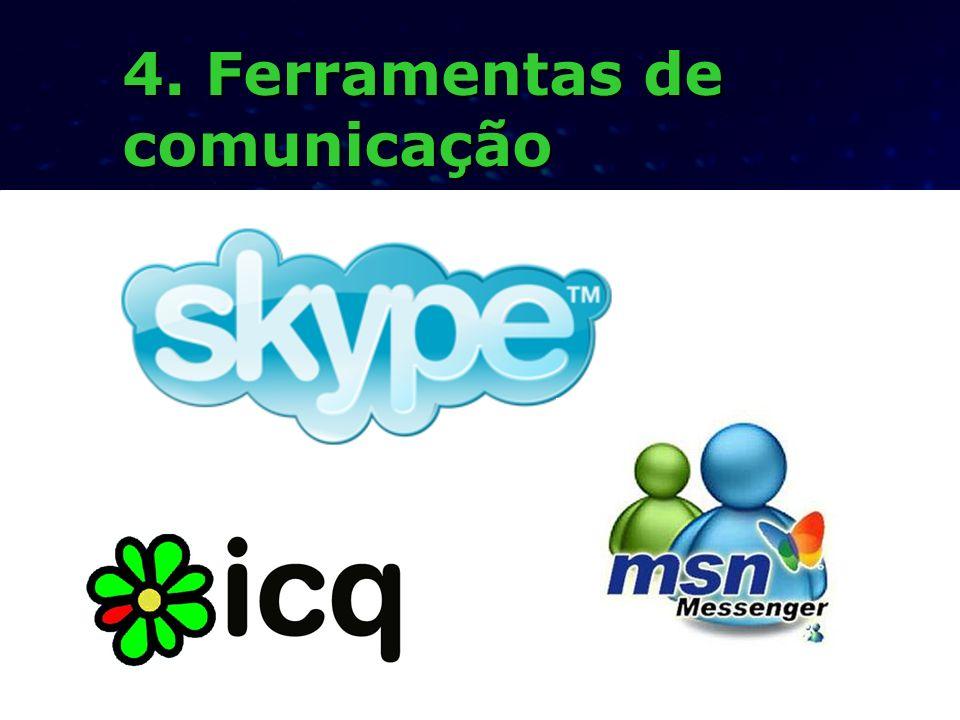 4. Ferramentas de comunicação