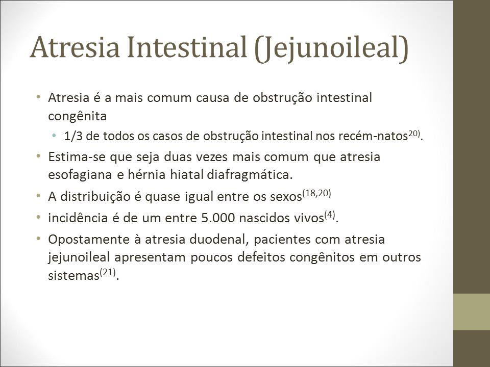 Atresia Intestinal (Jejunoileal)